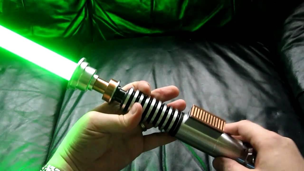 Luke's Green Lightsaber