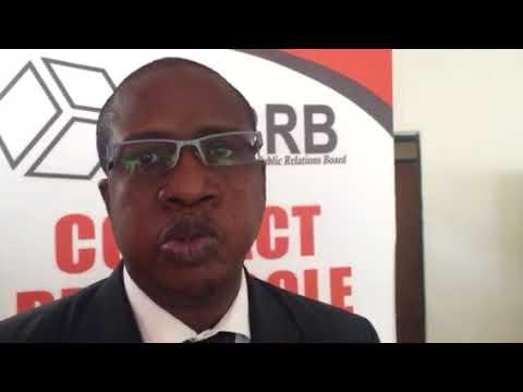IPPRB Master Class Protocole. Maison de la Presse Abj(RCI). Interview Mr Sissoko Cheick Oumar Ingen