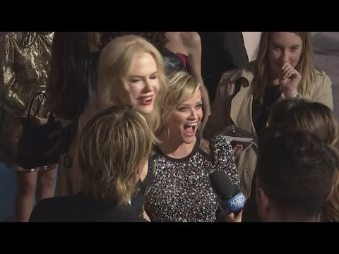 Big Little Lies premiere: Reese Witherspoon on getting advice from Nicole Kidman