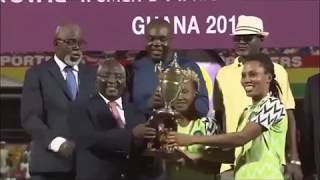 Nigeria Vs South Africa: 2018 AWCON Final - 4 - 3 Penalties (Full Time)