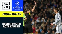 Sergio Ramos: Alle Roten Karten | UEFA Champions League | DAZN Highlights