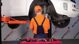 Instalação Cabo de travão de estacionamento TOYOTA RAV 4 II (CLA2_, XA2_, ZCA2_, ACA2_): vídeo grátis