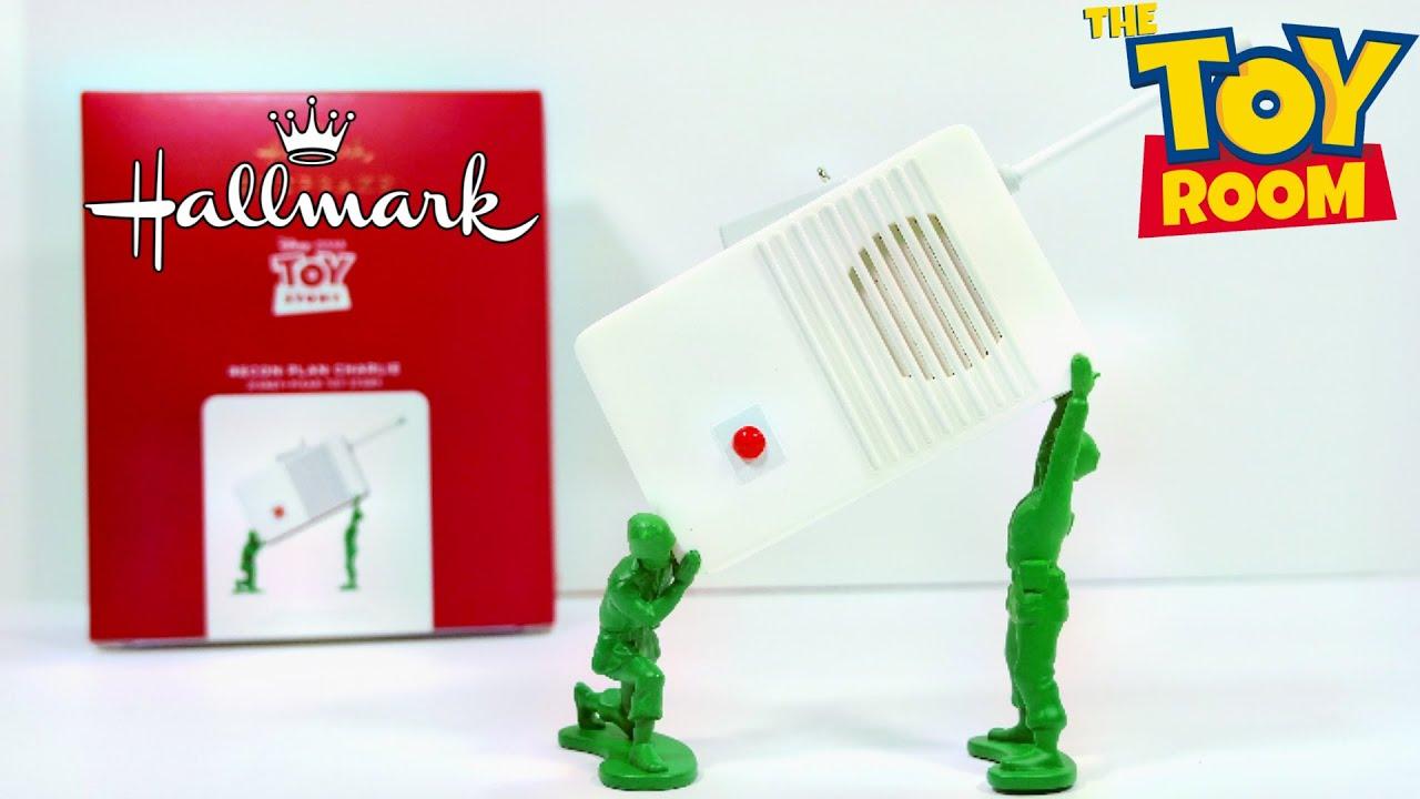 Hallmark Keepsake 2021 Toy Story Recon Plan Charlie Ornament Review