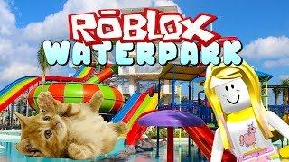 Roblox Water Park Meet Up Attack Of The Kittens