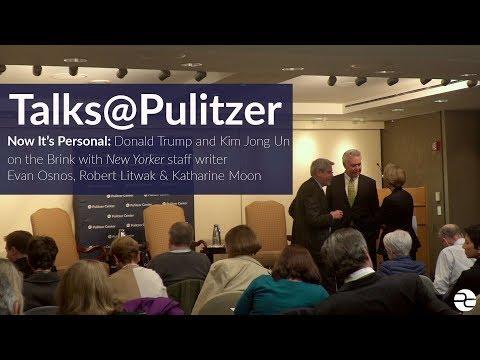 Talks@Pulitzer: New Yorker staff writer Evan Osnos on N. Korea