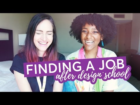 How to get a job after design or film school - with Ahsante the Artist | CharliMarieTV