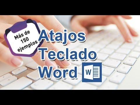 Más de 150 Atajos de Teclado para Word - Tips de productividad