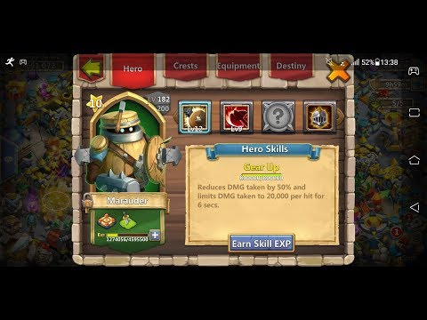 CASTLE CLASH|Marauder's Hidden Power| Best Hero In The Game