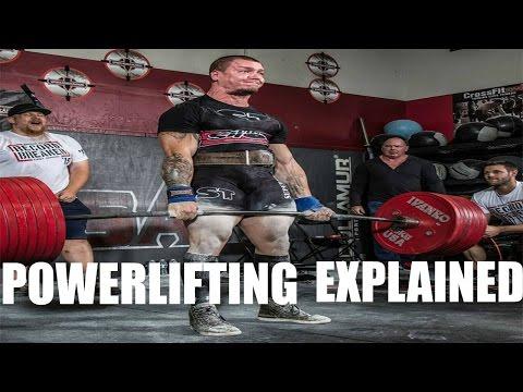 Powerlifting explained ep 1   The Basics