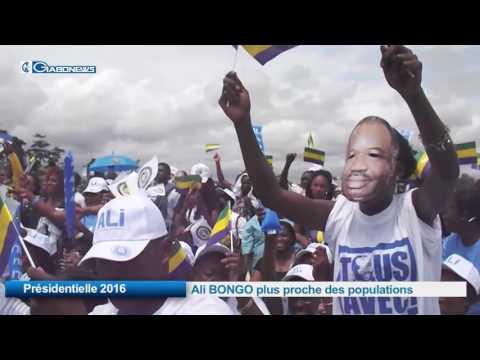 Présidentielle 2016 : Ali BONGO plus proche des populations
