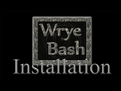 Как пользоваться wrye bash для skyrim