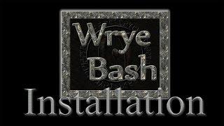 Установка модов Skyrim с помощью Wrye Bash