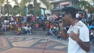 Appel Moi Hip Hop - Wu Team (Wake Up Session in Le Caudan Port Louis 05/04/2014)
