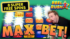 €40 MAX BET on Reel Rush 2