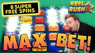 €40 MAX BET on Reel Rush 2