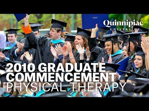 Quinnipiac University 2010 Physical Therapy Graduation Ceremony