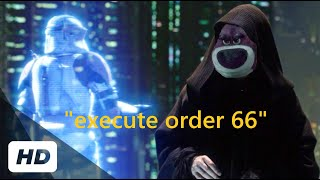 Order 66 but with animated characters