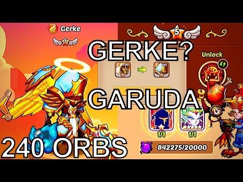 Idle Heroes GERKE! GARUDA? PVE Upgrades! - 240 Prophet Orbs - Weekly Events
