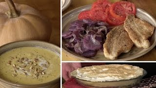 Smoked Cheese, Butternut Squash Soup, Vinegar Pie & Fried Catfish In Our Rendered Lard  (ep #324)
