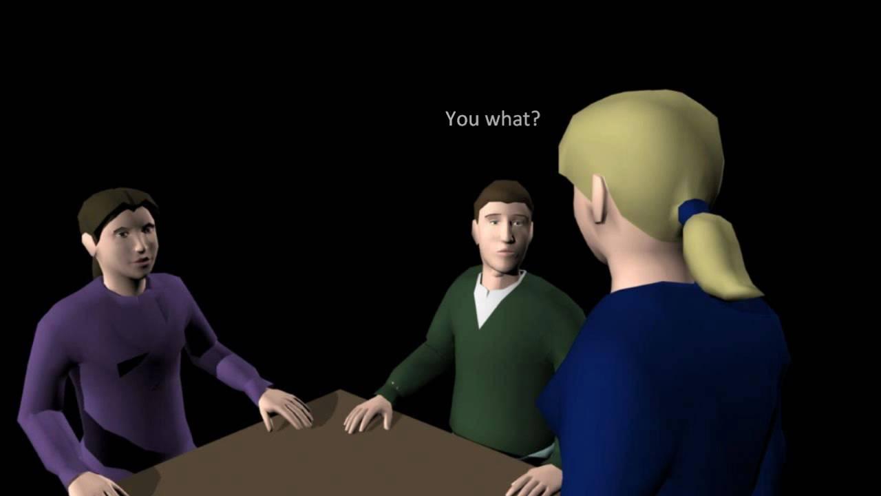 dialogue between 3 person