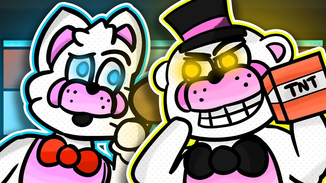 Minecraft Fnaf Funtime Freddy And Funtime Foxy Switch Bodies (Minecraft Roleplay)