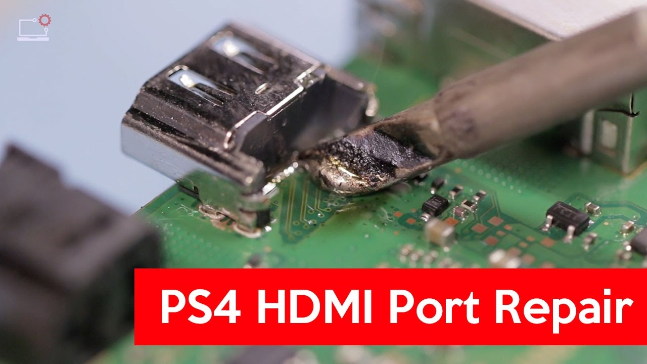 How To Do PS4 HDMI Port Repair? 🎮 PS4 White Light [FREE GUIDE]