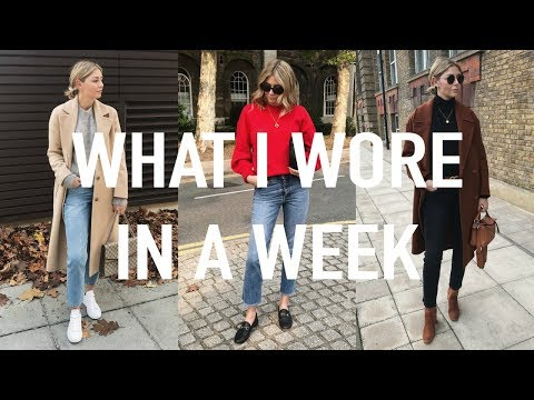 Vlog #18 | What I Wore In A Week & How I Tuck In My Sweaters