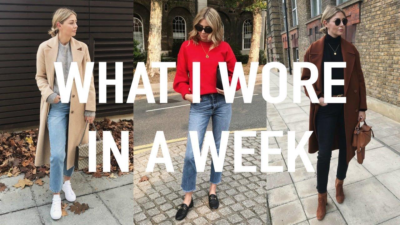 421b98fe54d Vlog #18 | What I Wore In A Week & How I Tuck In My Sweaters. Emma Hill