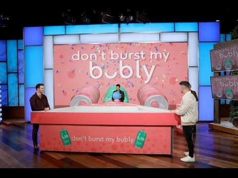 Aly SNX Blog - Jonas Brothers play 'Don't Burst My Bubly' to raise money for breast cancer