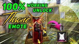 Baixar 100% Working MUST WATCH How to Unlock FFWC Throne Emote in Free Fire 🔥 All Emotes Unlock #freefire