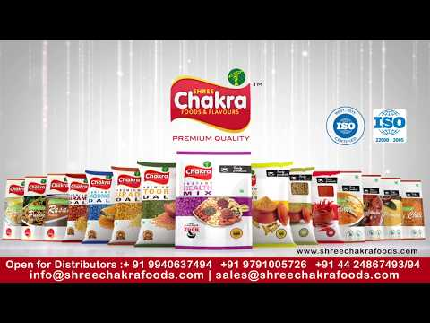 Shree Chakra Foods - Spices   Pulses   Grains   Instant Mix