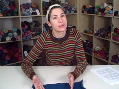 How To Knit A Sweater Lesson 1 Part 1 Of 2 Youtube