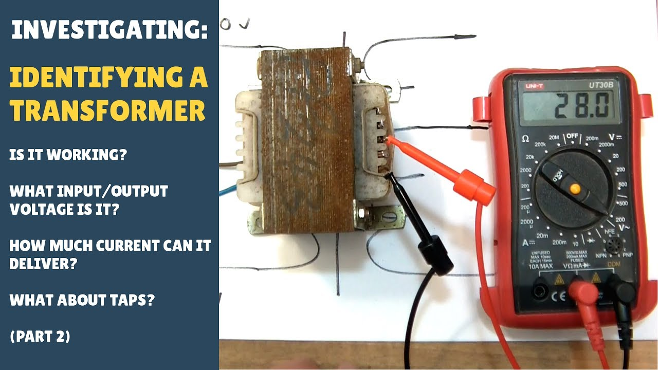 Identifying Power Transformer Windings