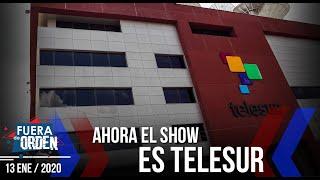El SHOW de Telesur | ¿Ahora DOS TELEVISORAS también? | Fuera de Orden | Daniel Lara Farías | 2 de 2