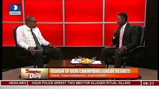Review Of UEFA Champions League Results Pt.1 |Sunrise Daily|