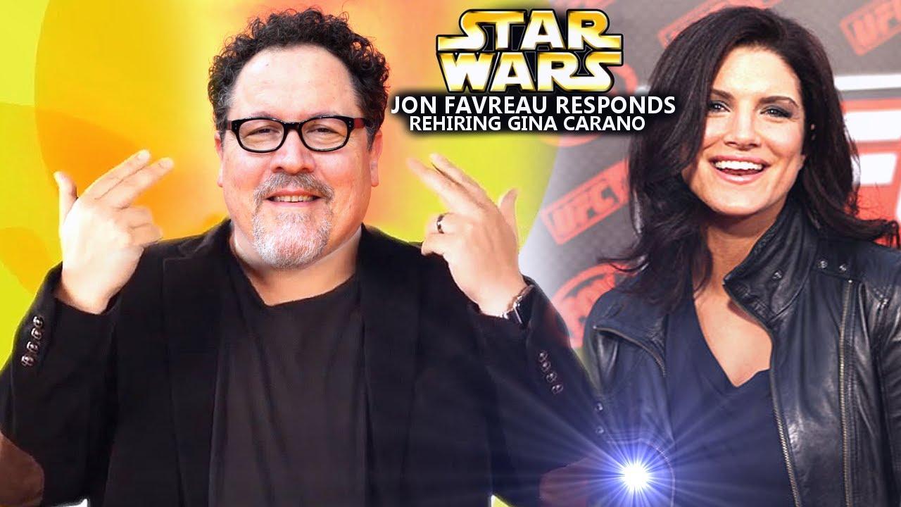 Jon Favreau Responds To Getting Gina Carano Rehired & The Firing (Star Wars Explained)