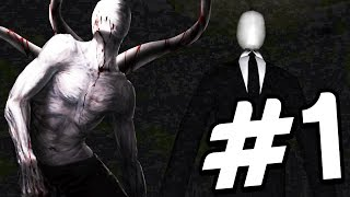 Slender The 9 Pages: Part 1 - INSANE JUMPSCARE! HE