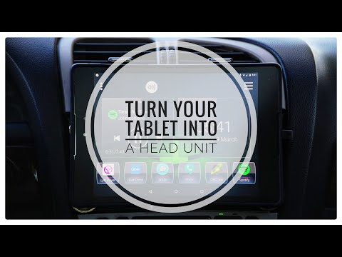 TURN YOUR TABLET INTO A HEAD UNIT