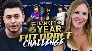 TOTY HIGHEST RATED FUT DRAFT CHALLENGE!! FIFA 18 ULTIMATE TEAM!