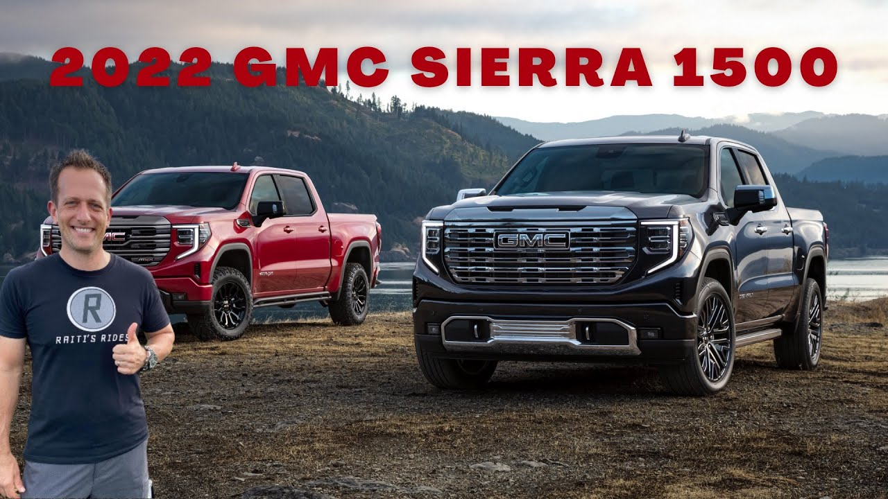 2022 GMC Sierra Gets AT4X And Denali Ultimate Trims