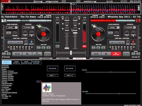 Hướng dẫn cơ bản qua nhạc trên Virtual DJ bằng chuột - DJ Trieu (MuziGMix)