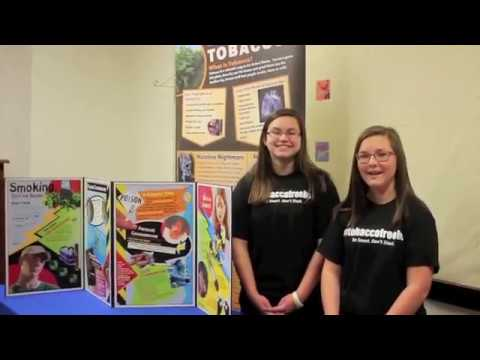 Hamblen County Schools Great American Smokeout mp4