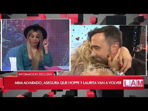 Mimi confirmó que Laurita Fernández se está viendo con Hoppe