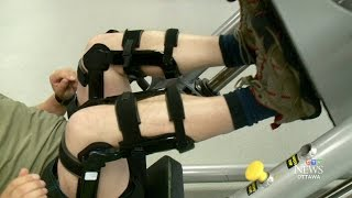 Canadian soldiers testing out bionic knee device, 'The Upshot'