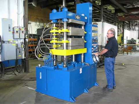 125 Ton Wabash Hydraulic Press with multiple daylights by Icon Industries, Inc.