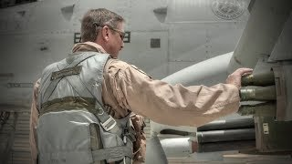 A-10 Thunderbolt II Pilot Prepares For Flight Before Takeoff
