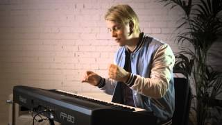 Tom Odell on the Roland LX-15 Digital Piano