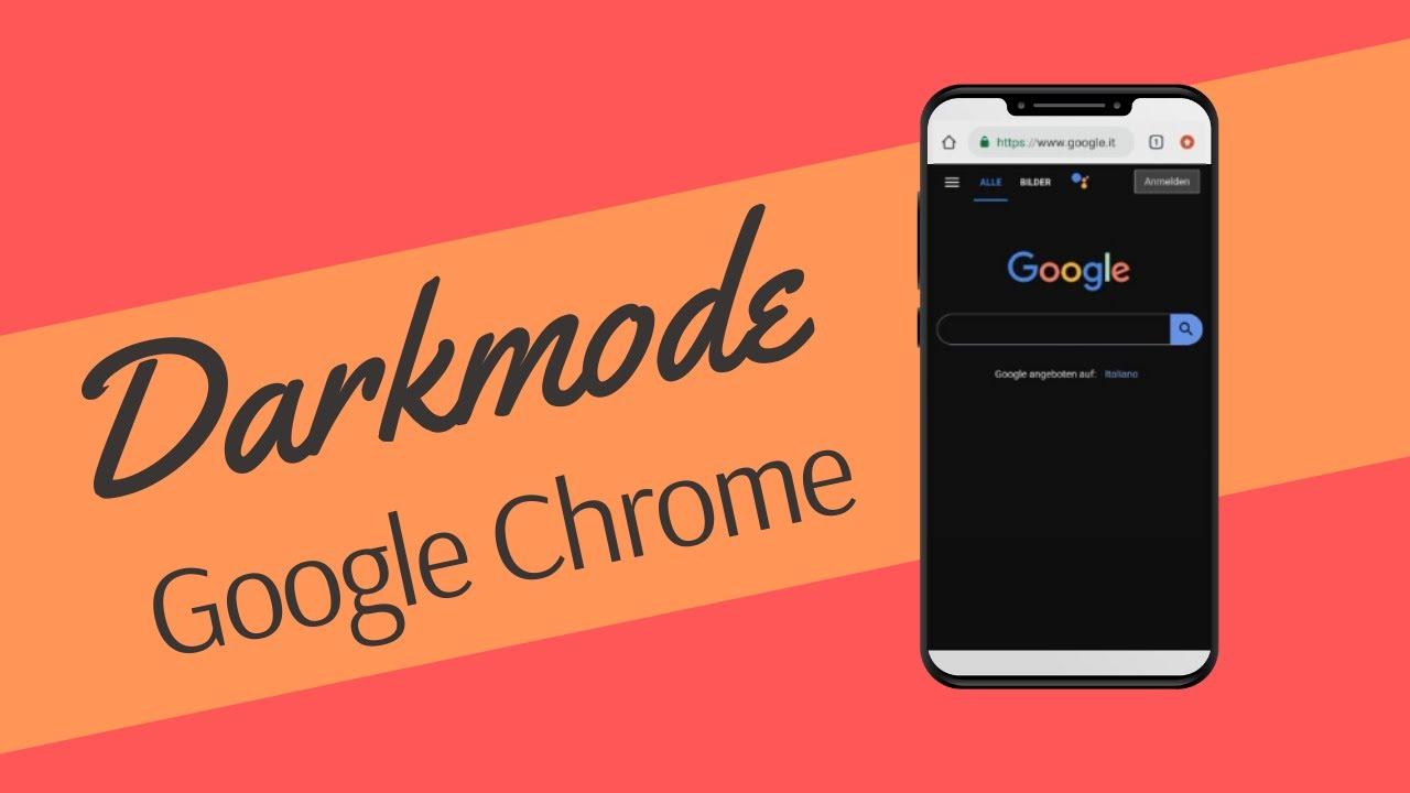 Google Chrome Nachtmodus
