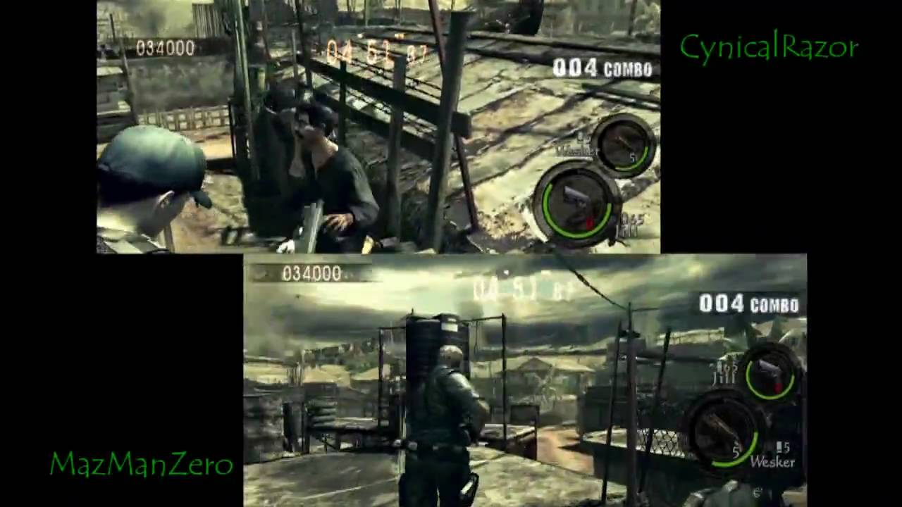 Resident Evil 5 Mercenaries Split Screen Ss Rank Public