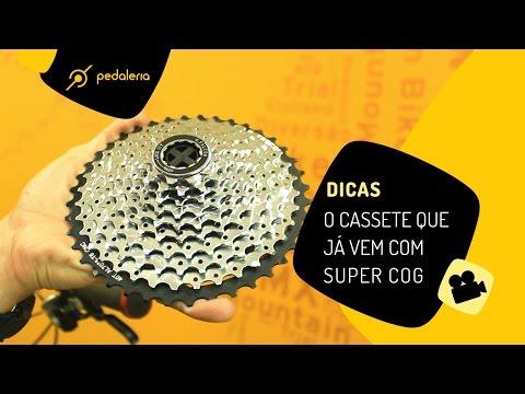Pedaleria - O Cassete Que Já Vem Com Super Cog (cassete 11-40)